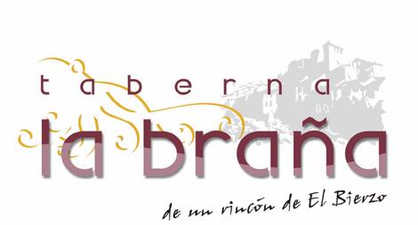 TABERNA LA BRAÑA logo